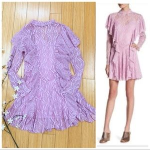 FREE PEOPLE Wisteria crochet lace dress, 4.